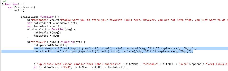 Javascript protection